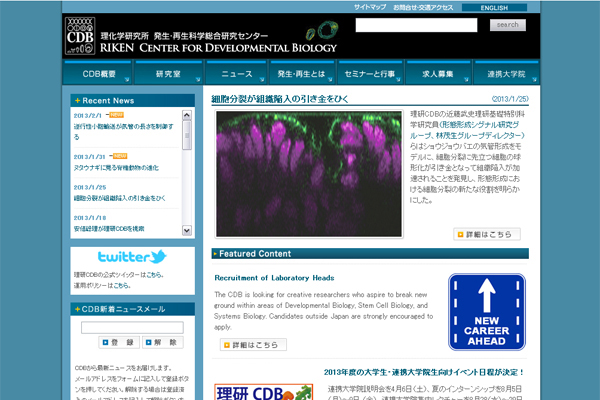 公的機関ウェブサイトデザイン