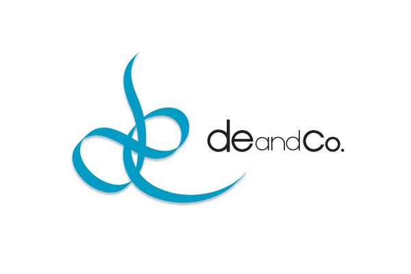 de & Co. ロゴデザイン